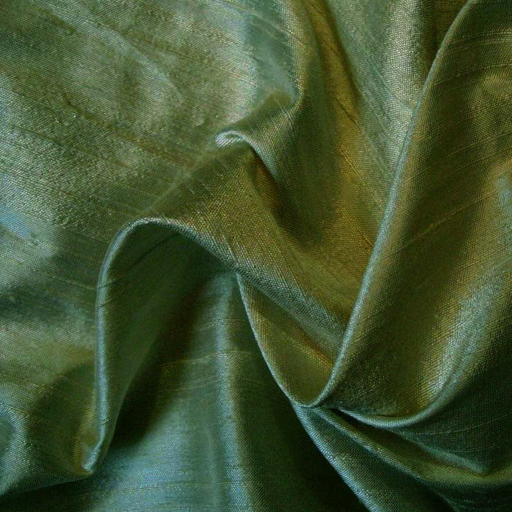 Silk Dupioni 159 Ultra Green