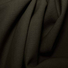 Wool Crepe Double Cloth 16 Charcoal