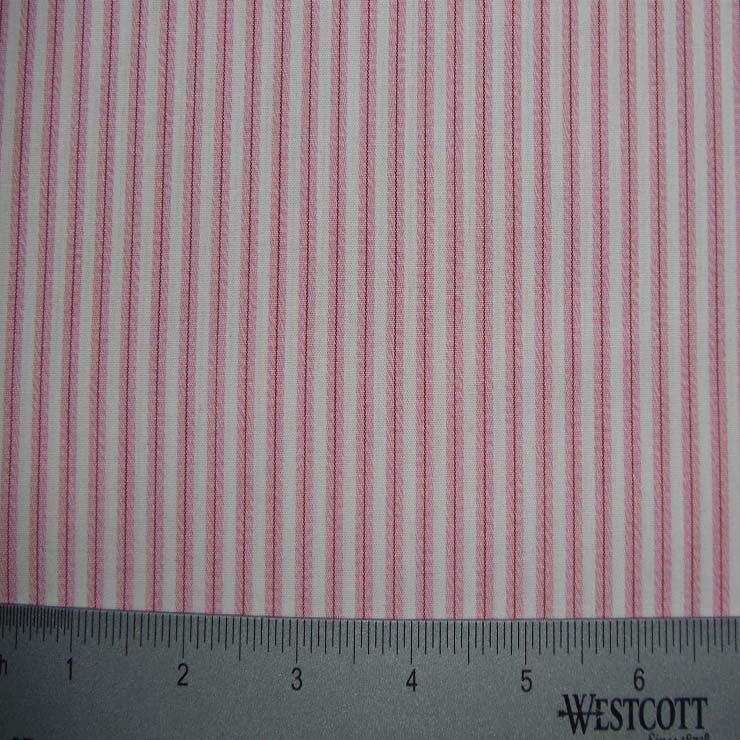 100% Cotton Fabric Stripes Collection #10 16 TWS0151PNK - NY Fashion Center Fabrics