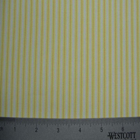 100% Cotton Fabric Stripes Collection #10 16 TWS0151YEL - NY Fashion Center Fabrics