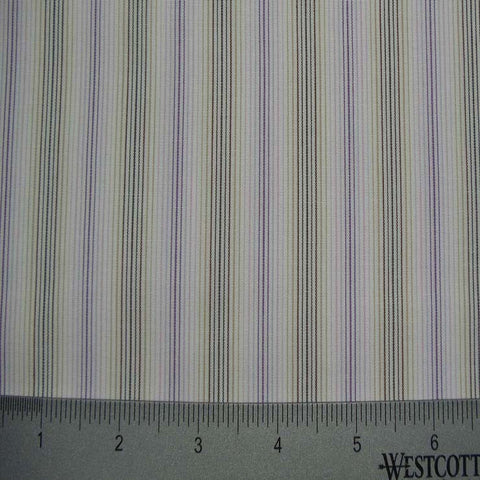 100% Cotton Fabric Stripes Collection #8 16 Y D4529H M - NY Fashion Center Fabrics