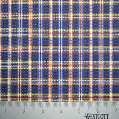100% Cotton Fabric Checks Collection #4 16 Y D5211MUL - NY Fashion Center Fabrics