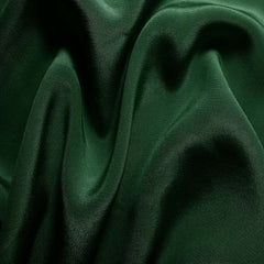 Silk Crepe de Chine Hunter Green