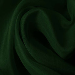 Silk Satin Face Organza Hunter Green