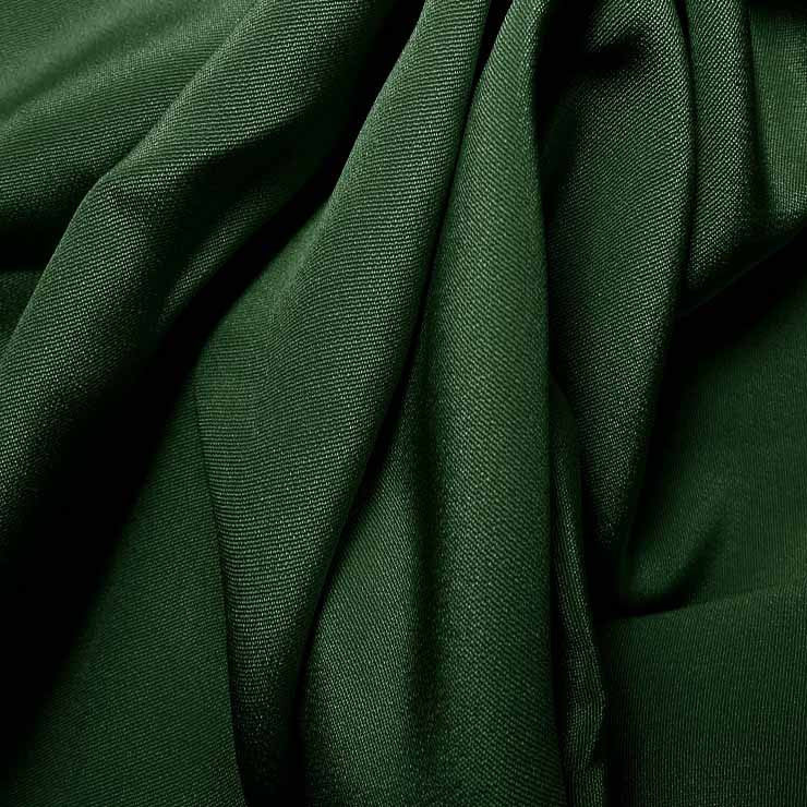 Silk 4 Ply Woven Crepe Hunter Green