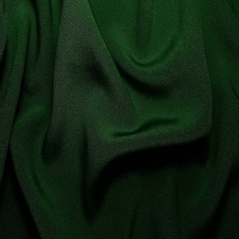 Silk Crepe Back Satin Hunter Green