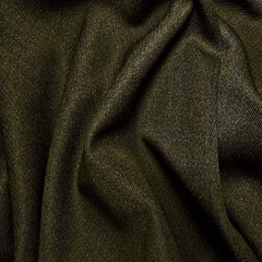 Wool Elastique Blend Fabric 168 Forestry Green