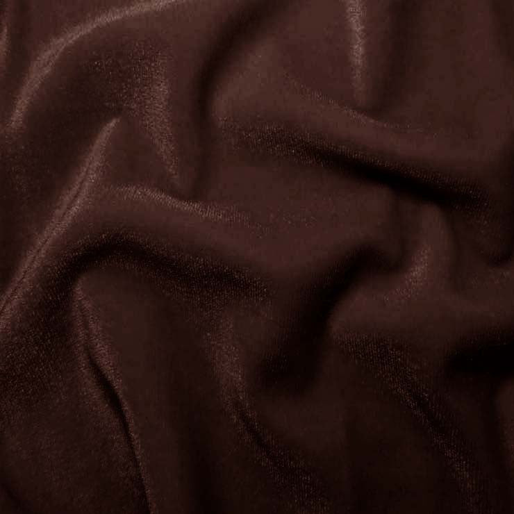 Polyester Stretch Velvet 17 Burgundy