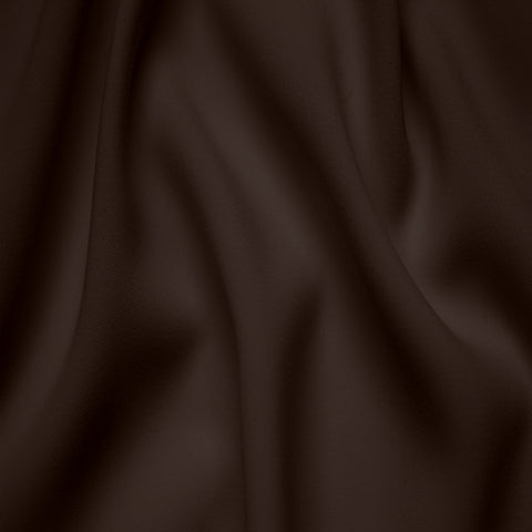 Polyester Stretch Crepe Jersey 17 Dark Brown