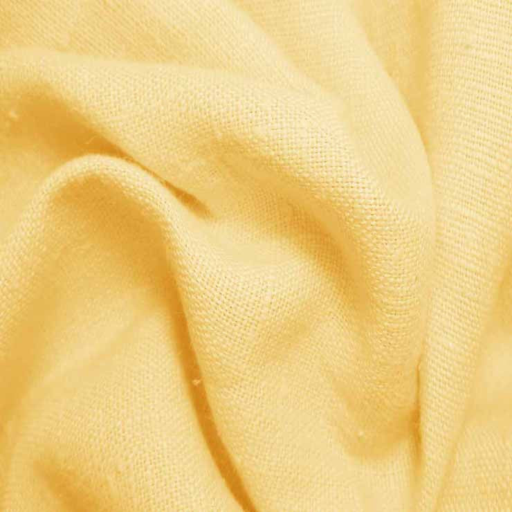 Heavyweight Linen 17 Gold - NY Fashion Center Fabrics