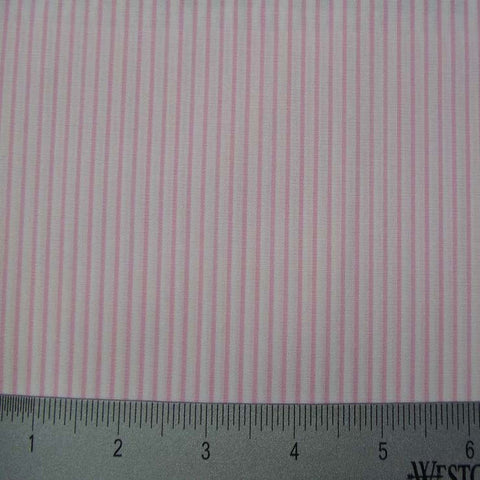 100% Cotton Fabric Stripes Collection #13 17 KO 3220 Y D8487PNK - NY Fashion Center Fabrics