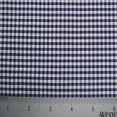 100% Cotton Fabric Checks Collection #5 17 KO 3472 Y D9835NVY - NY Fashion Center Fabrics