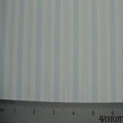 100% Cotton Fabric Stripes Collection #8 17 LUR0048BLU - NY Fashion Center Fabrics