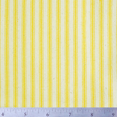 Cotton Stripe Ticking - 15 Yard Bolt 171505 Sun Yellow - NY Fashion Center Fabrics
