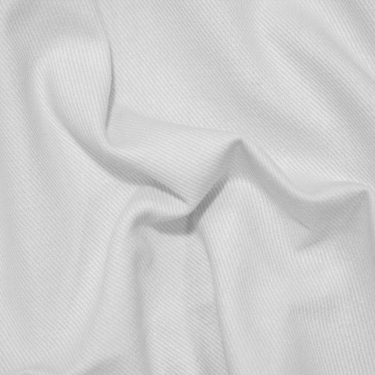 Cotton Bull Denim 172525 White - NY Fashion Center Fabrics