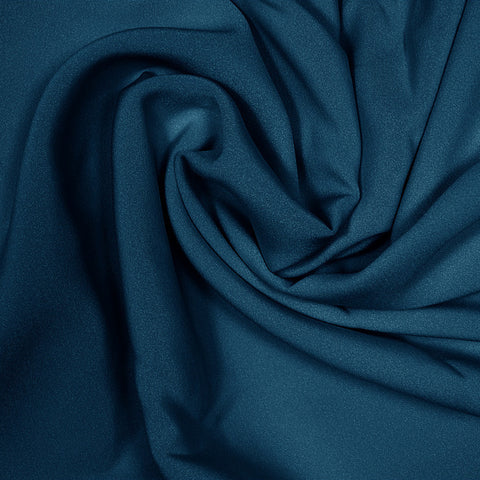 Silk Stretch 4 Ply Crepe Real Navy