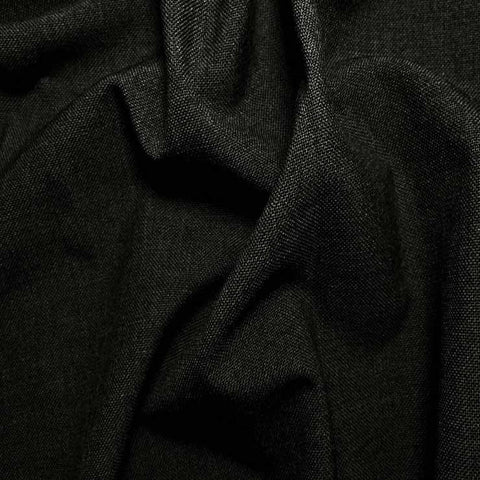 3 Ply Wool/Poly Blend Suiting 179 Charcoal Grey - NY Fashion Center Fabrics