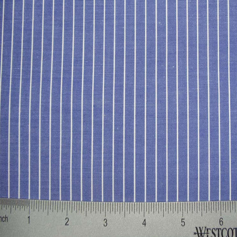 100% Cotton Fabric Stripes Collection #10 18 KO 2388 Y D8606BLU - NY Fashion Center Fabrics