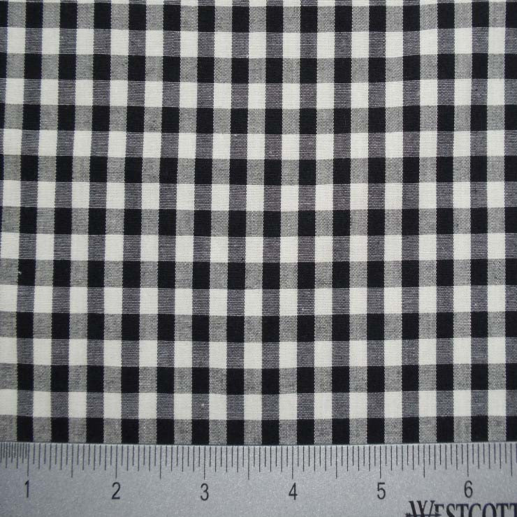 100% Cotton Fabric Checks Collection #4 18 Y D9837B C - NY Fashion Center Fabrics