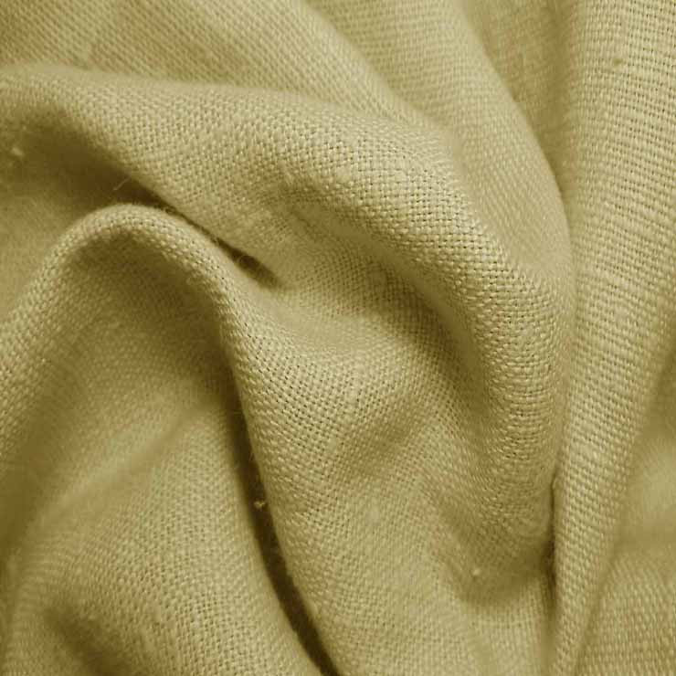Heavyweight Linen 19 Chamois - NY Fashion Center Fabrics