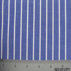 100% Cotton Fabric Stripes Collection #1 19 KO 3136 Y D8598BLU - NY Fashion Center Fabrics