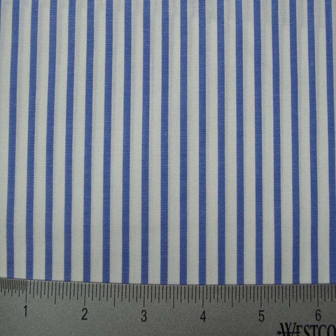 100% Cotton Fabric Stripes Collection #13 19 KO 3222 Y D9986SKY - NY Fashion Center Fabrics