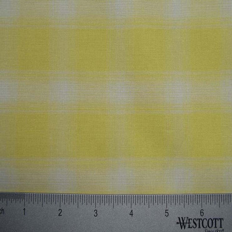 100% Cotton Fabric Checks Collection #5 19 KO 3432 Y D9755GOL - NY Fashion Center Fabrics