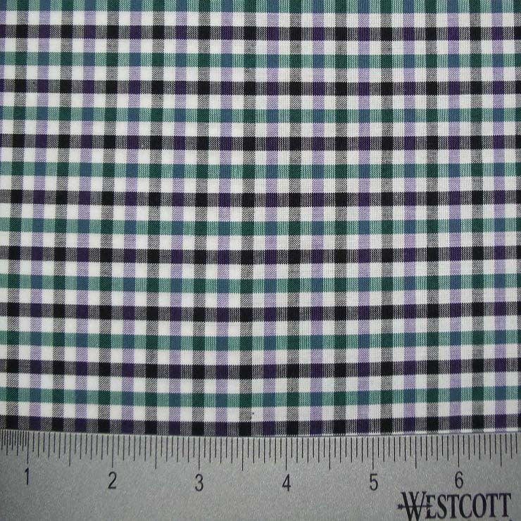 100% Cotton Fabric Checks Collection #2 19 KO 3475 Y D9838NBH - NY Fashion Center Fabrics