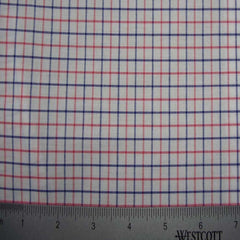 100% Cotton Fabric Checks Collection #1 19 KO3217 Y D8385PNK - NY Fashion Center Fabrics