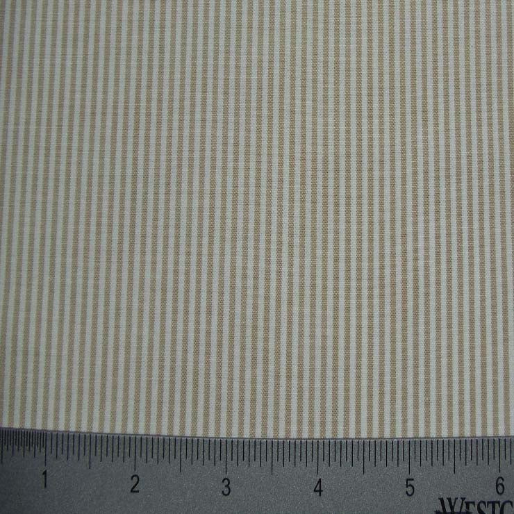 100% Cotton Fabric Stripes Collection #10 19 STR8460KHA - NY Fashion Center Fabrics