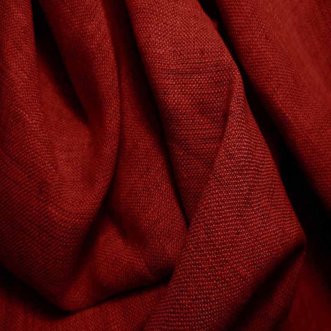 Medium Weight Linen - 6.5-oz 19 Scarlet - NY Fashion Center Fabrics