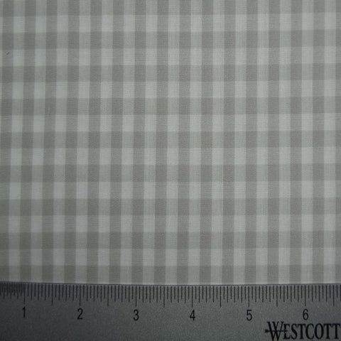100% Cotton Fabric Checks Collection #4 19 Y D9837S W - NY Fashion Center Fabrics