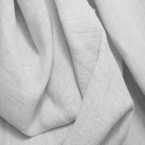 Medium Weight Linen - 6.5-oz 2 White - NY Fashion Center Fabrics