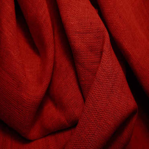 Medium Weight Linen - 6.5-oz 20 Crimson - NY Fashion Center Fabrics