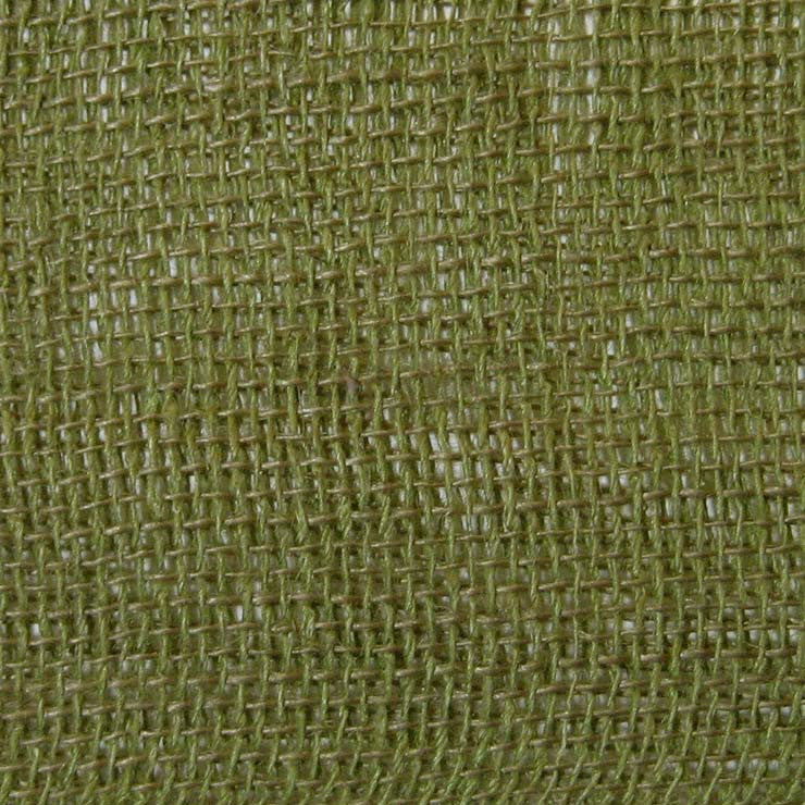 Open Weave Linen 20 Dark Green