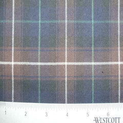 100% Cotton Fabric Checks Collection #2 20 FLN5004 B B - NY Fashion Center Fabrics