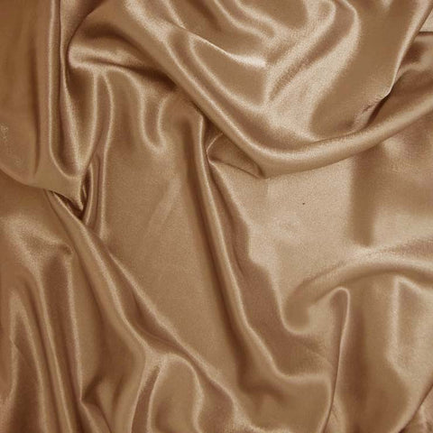 Polyester Crepe Back Satin 20 Gold
