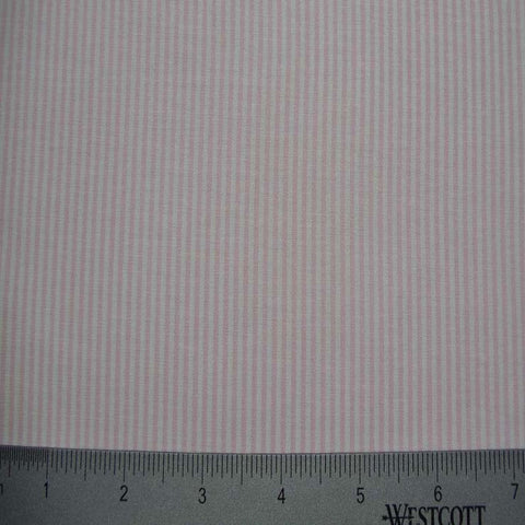 100% Cotton Fabric Stripes Collection #10 20 STR8460PNK - NY Fashion Center Fabrics