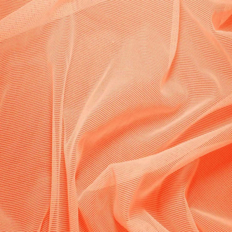 Nylon/Spandex Sheer Stretch Mesh 20 SweetPotato - NY Fashion Center Fabrics