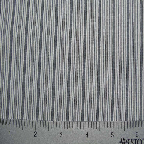 100% Cotton Fabric Stripes Collection #13 20 Y D8639GRY - NY Fashion Center Fabrics