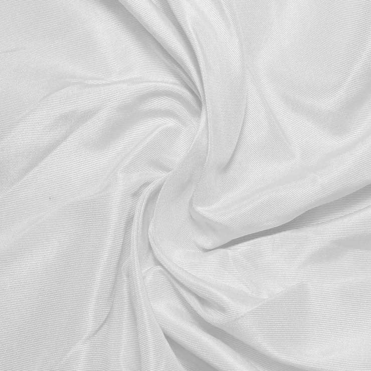 Silk Habotai White