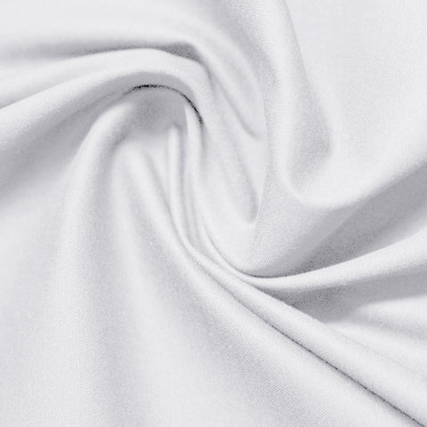 Cotton Stretch Sateen 201 Off White - NY Fashion Center Fabrics