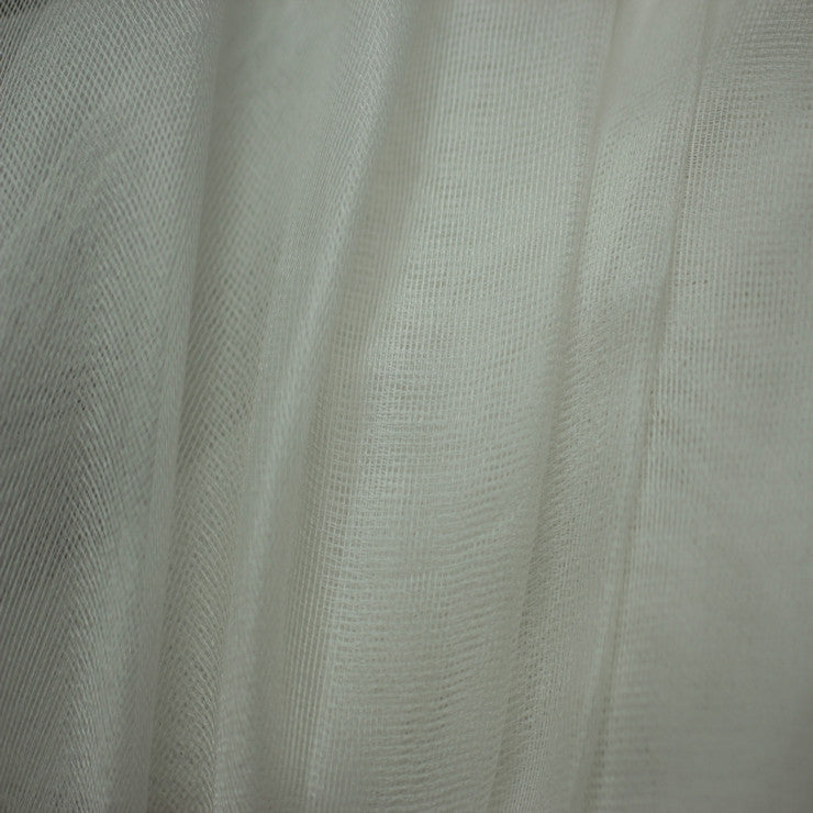 Silk Mesh Organza Off White