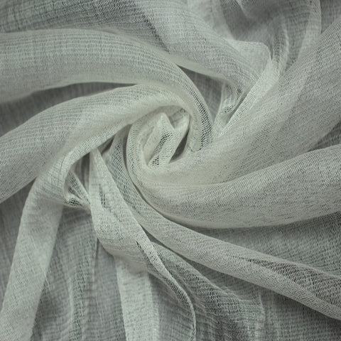 Silk Tulle Off White