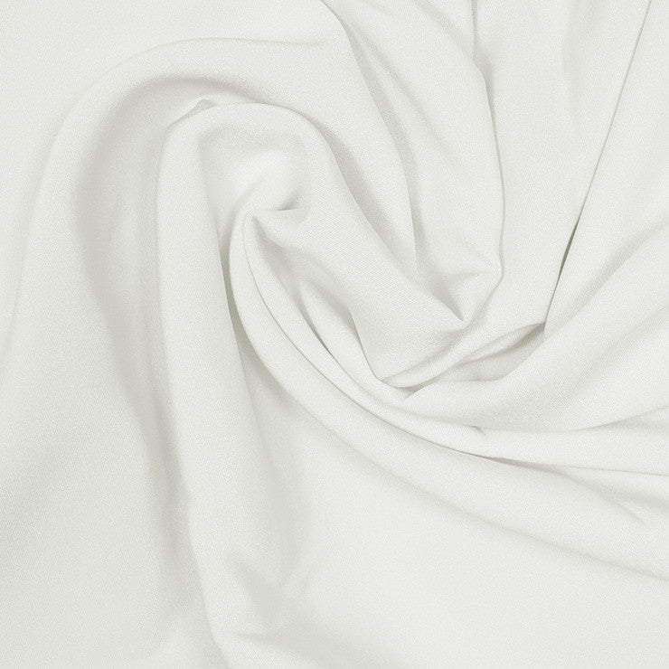 Silk Stretch 4 Ply Crepe Ivory