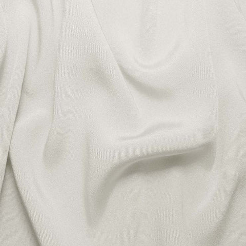 Silk Crepe Back Satin Ivory