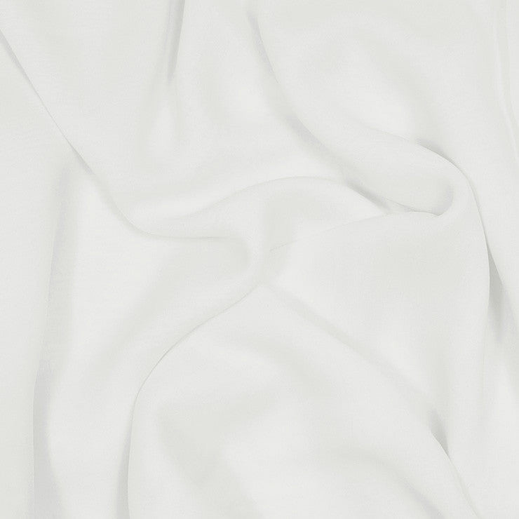 Silk Stretch Chiffon Ivory
