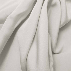 Silk 4 Ply Woven Crepe Ivory