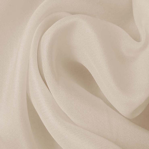 Silk Satin Face Organza Ecru
