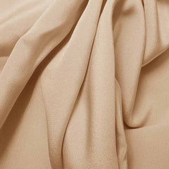 Silk 4 Ply Woven Crepe Beige